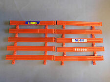 Scalextric Classic 10 X Red Crash Barriers
