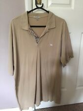 Men's burberry polo shirt