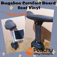 Bugaboo COMFORT CON RUOTE BOARD Sedile Pole Pre-Cut Vinyl-Nero glitter