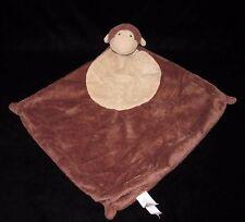 Angel Dear Brown Tan Monkey Baby Security Blanket Lovey