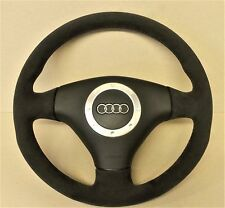 Audi TT - Retrimming service - steering wheel  genuine alcantara