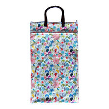 EcoAble Large Hanging Wet Dry Pail Bag for Cloth Diapers or Laundry, Spring