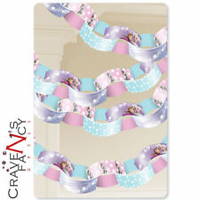 Disney Frozen Paper Chain Link Garland Hanging Birthday Party Decoration New