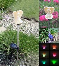 Solar Powered Angel Garden Yard Stake Color Changing LED Light