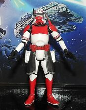 STAR Wars Action Figure CLONE TROOPER COMMANDER Thorn il Nero Serie 2014