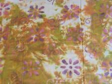 """BATIK one-of-a-kind earthy florals 100% cotton quilting fabric 3 yds x 44"""" w"""