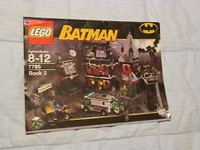 LEGO Batman Arkham Asylum (7785) Instuction Manual ONLY Book 2