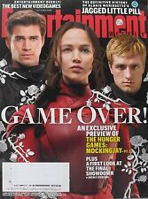 JENNIFER LAWRENCE LIAM HEMSWORTH  HUNGER GAMES Oct 2015 ENTERTAINMENT WEEKLY