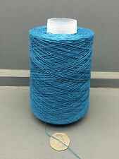 200G 2/30NM 100% SILK YARN PEACOCK BLUE