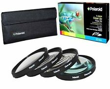 Polaroid Optics 58mm 4 Piece Close Up Filter Set 10 Macro Lens high Quality