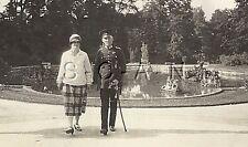 WWII German RP- Army Officer- Walk in Park- Dress Sword- Badge- Frau- 1920s-30s