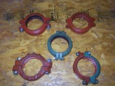 """VICTAULIC / CENTRAL 4"""" inch GROOVED PIPE COUPLER CLAMP 1 PER BUY"""