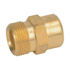 """New M22/15mm Male X 3/8"""" Female Pressure Washer Hose Adaptor For Lavor etc"""