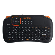 2.4GHz Wireless Mouse Keyboard w/ Touchpad For Mini PC Pad Andriod Smart TV Box