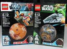 NEW LEGO LOT STAR WARS SERIES 1 3 9675 75007 SEBULBA CLONE TROOPER TATOOINE CORU