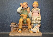 "Norman Rockwell Figurine ""The Cobbler"" 1979"