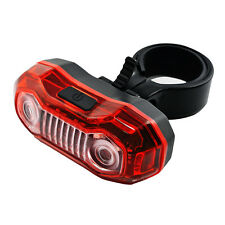 5 LEDs Bright Cycling Bike Bicycle Rear Light Tail Back Flashing Lamp with Clamp