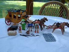 Playmobil Western Express Stagecoach with figures and accessories (3780)
