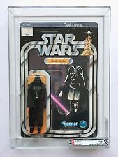 Vintage 1978 Kenner Star Wars Darth Vader 12 - C Back MOC AFA 85