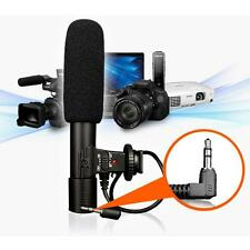 Camera Camcorder 3.5mm Direction External Microphone for DSLR Canon Nikon MIC01