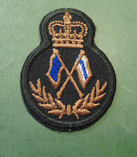 CANADA Canadian Armed Forces Signalman signals trade qualification badge Level 4