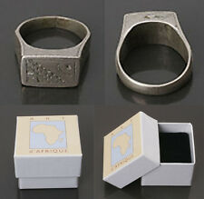 BEAUTIFUL ANTIQUE OLD TUAREG TOUAREG SILVER RING + GIFT BOX – AFRICAN JEWELLERY