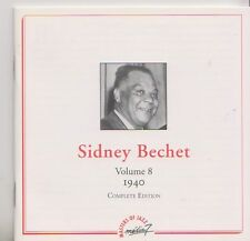SIDNEY BECHET  CD  VOLUME 8   1940 COMPLETE EDITION  MASTERS OF JAZZ
