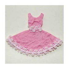 3 x MULBERRY PAPER PINK BALLET DRESS - CARD MAKING TOPPER EMBELLISHMENTS