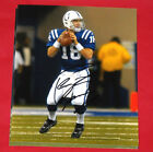 PEYTON MANNING AUTOGRAPHED INDIANAPOLIS COLTS 8X10 PHOTO AASH