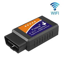 Car WIFI OBD 2 OBD2 OBDII Scan Tool Foseal Scanner Adapter Check Engine Diagn...