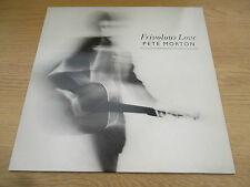 PETE MORTON - FRIVOLOUS LOVE Vinyl LP Album UK 1987 Folk HARBOURTOWN REC- HAR001
