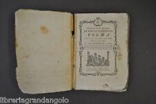 Sardegna De Sardoa Interperie Poema Carboni Arcadia tradotto Pinna Sassari 1774