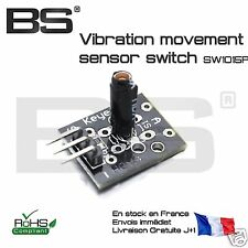 module detecteur de vibration vibration switch SW-18015P Arduino Maple Pi STM32