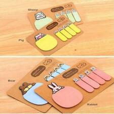 Cute Animal Kraft Paper Mini Sticky 4 Styles Notes Marker Memo Pad Stationery