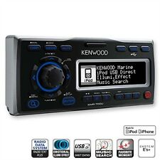 Kenwood KMR-700U Marine Radio iPhone 4 4S iPod USB Receiver für Boot Boat Yacht