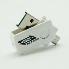 Portable Micro USB2.0 OTG Adapter+Micro SD TF Memory Card Reader for Android CA