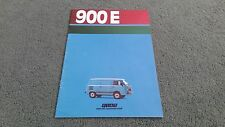 1984 1985 FIAT 900E 900 E - ITALIAN BROCHURE Van + High Roof Combinato Panorama
