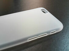 "iPhone 6 de 4,7"" - Carcasa Funda UltraSlim 0,2 mm de espesor - TRANSPARENTE mate"