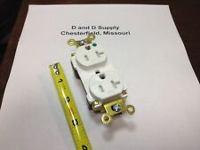 PASS & SEYMOUR PTTR63-HLA PLUG TAIL RECEPTACLE 20A 125V TR HOSPITAL GRADE