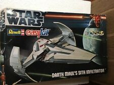 REVELL STAR WARS 1:120 Sith Infiltrator facile kit