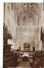 Hampshire Postcard - Winchester Cathedral - Choir E.P.C.  ZZ2004