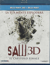 Blu-ray 3D + Blu-ray 2D **SAW 3D • IL CAPITOLO FINALE** nuovo 2011