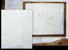 1787 Wein Weinhandel Beaune Labaume ainé Bourgogne Burgund Elsass Alsace Brief