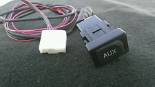 GENUINE TOYOTA OEM AUX STEREO ADAPTER CAMRY PRIUS TACOMA RAV4 W/WIRE HARNES