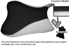 WHITE & BLACK CUSTOM FITS SUZUKI 600 750 GSXR 08-10 K8 K9 L0 FRONT SEAT COVER