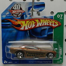 DODGE BOYS 1970 FC SHORT CARD CHALLENGER 08 MOPAR HOT HW T HUNTS WHEELS