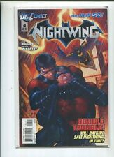 Nightwing #4 Very Fine The New 52 Will Batgirl Save Nghtwing In Time   CBX1G