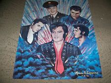 ELVIS PRESLEY 5 HEAD  POSTER