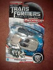 New TRANSFORMERS MechTech SIDESWIPE Dark of The Moon DELUXE Version RARE