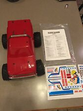 RARE VINTAGE RC TRAXXAS SLEDGEHAMMER NEW BUILT DECALS SEE PICS KYOSHO TAMIYA